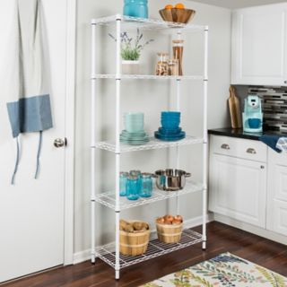Honey-Can-Do 5 Tier Storage Shelving Unit