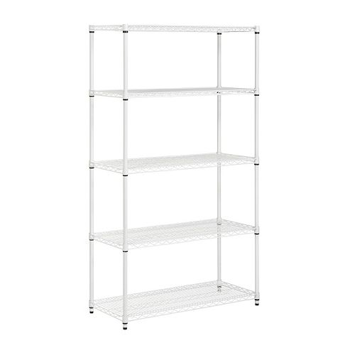 Honey-Can-Do 5 Tier 800-lbs. Capacity Shelving Unit