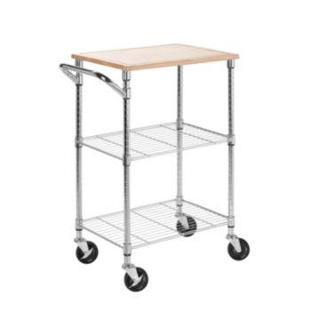 Honey-Can-Do 2 Shelf Urban Rolling Cart