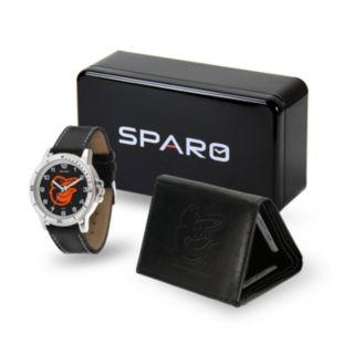 Men's Sparo Baltimore Orioles Watch and Wallet Set