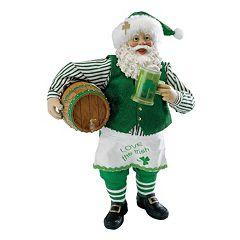 Beer Barrel Musical Irish Santa