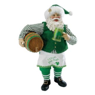 Beer Barrel Musical Irish Santa