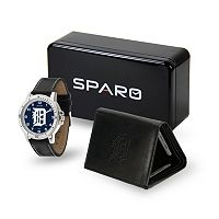 Sparo Detroit Tigers Watch and Wallet Set - Men