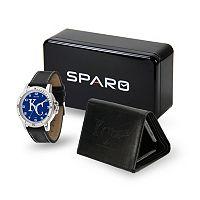 Men's Sparo Kansas City Royals Watch and Wallet Set