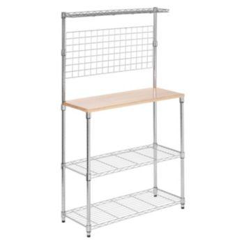 Honey-Can-Do 2 Shelf Urban Baker's Rack