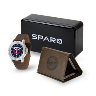 Sparo Minnesota Twins Watch and Wallet Set - Men