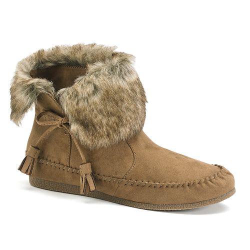 Madden Girl Finnn Women's Moccasin Ankle Boots