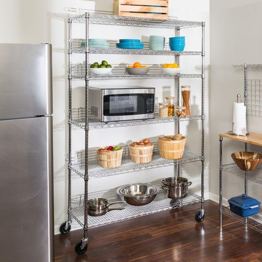 Honey-Can-Do 6 Tier Urban Shelving Unit