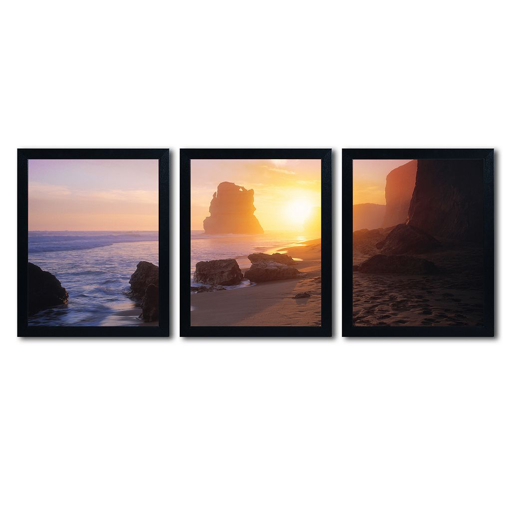 Trademark Fine Art ''Apostles From The Beach'' 3-pc. Wall Art Set