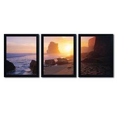Trademark Fine Art ''Apostles From The Beach'' 3-pc. Wall Art Set