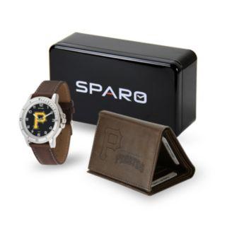 Men's Sparo Pittsburgh Pirates Watch and Wallet Set