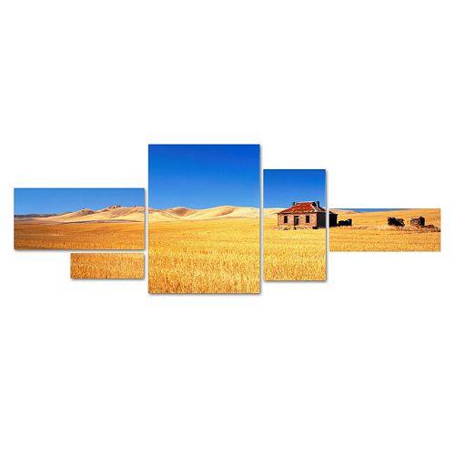 Trademark Fine Art ''Burra Homestead'' 5-pc. Wall Art Set