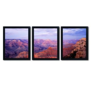 Trademark Fine Art ''The Grand Canyon'' 3-pc. Wall Art Set