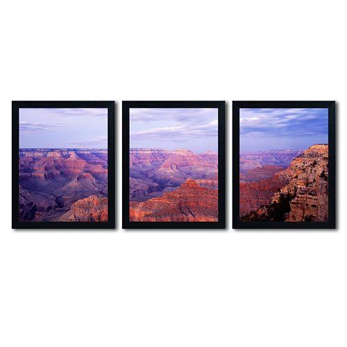 Trademark Fine Art ''The Grand Canyon'' 3-pc. Wall Art Set