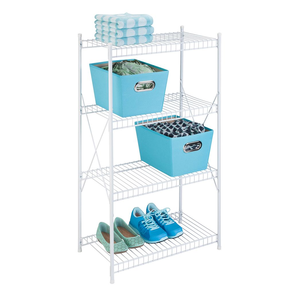 Honey-Can-Do 4 Tier Storage Shelf