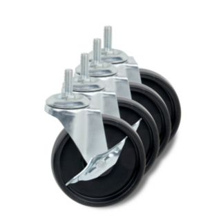 Honey-Can-Do 4 pack Caster Set