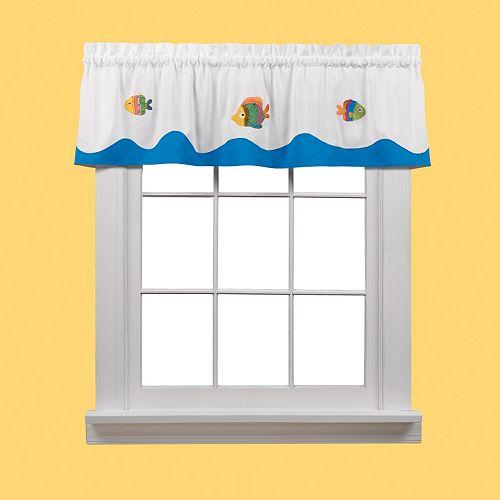 Saturday Knight, Ltd. Sea Window Valance