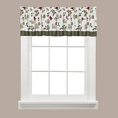 Saturday Knight, Ltd.  Cheerful Trimmings Window Valance - 58'' x 13''