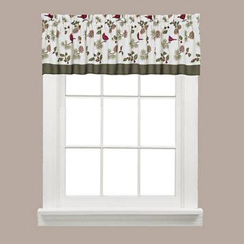 Saturday Knight, Ltd. Cheerful Trimmings Window Valance - 58'' x 13''