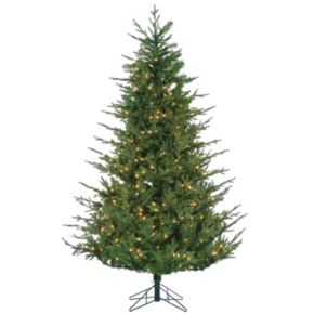 Sterling 6.5' Natural Cut Upswept Chesterfield Spruce Artificial Christmas Tree