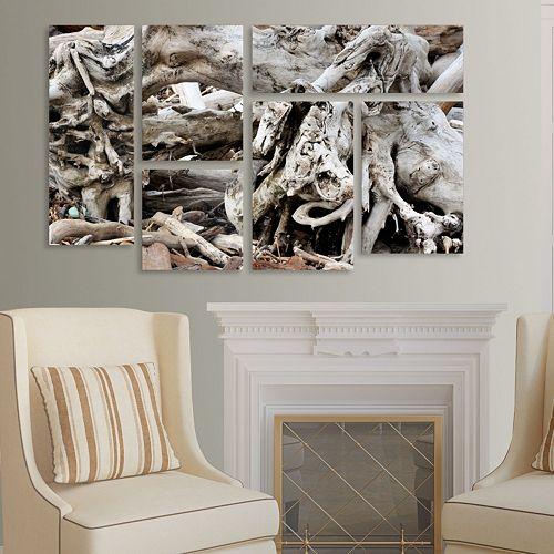 Trademark Fine Art ''Drift Wood'' 5-pc. Wall Art Set