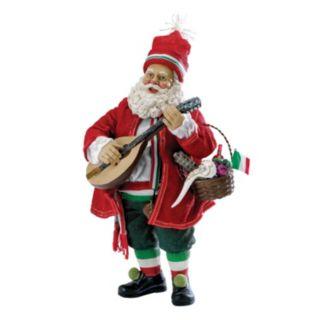 Musical Italian Santa