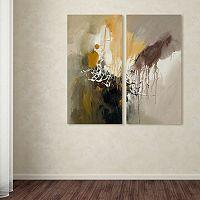 Trademark Fine Art ''Abstract I'' 2 pc Wall Art Set