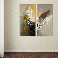 Trademark Fine Art ''Abstract I'' 2 pc Wall Art Set