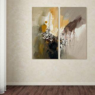 Trademark Fine Art ''Abstract I'' 2-pc. Wall Art Set