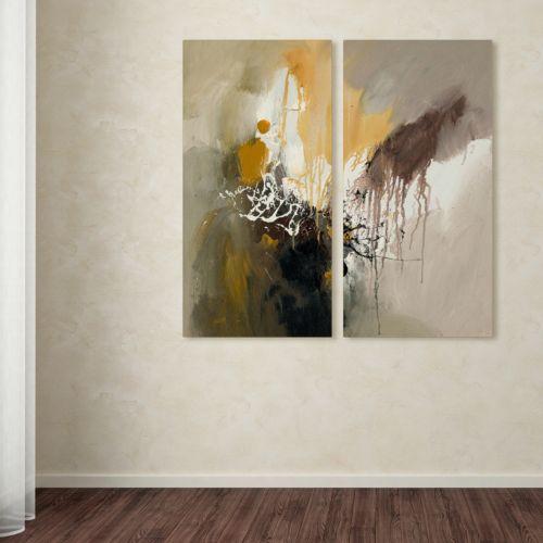 "Trademark Fine Art ""Abstract I"" 2-pc. Wall Art Set"