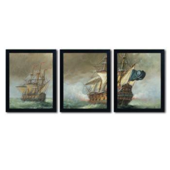 Trademark Fine Art ''The Revenge'' 3-pc. Wall Art Set