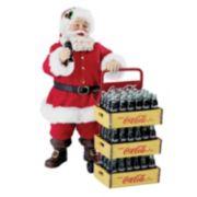 Coca-Cola Delivery Cart Santa