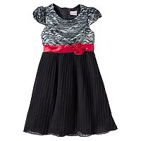 Nannette Rosette Dress - Toddler Girl