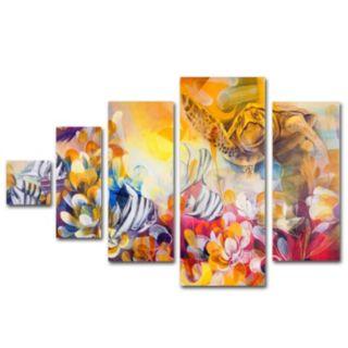 Trademark Fine Art ''Key Largo'' 5-pc. Wall Art Set