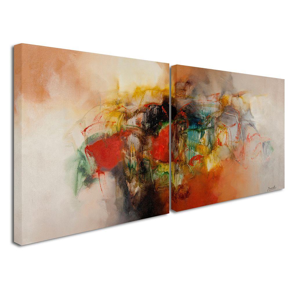 Trademark Fine Art ''Abstract VI'' 2-pc. Wall Art Set