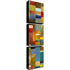 Trademark Fine Art ''Color Panels With Blue Sky'' 3 pc Wall Art Set