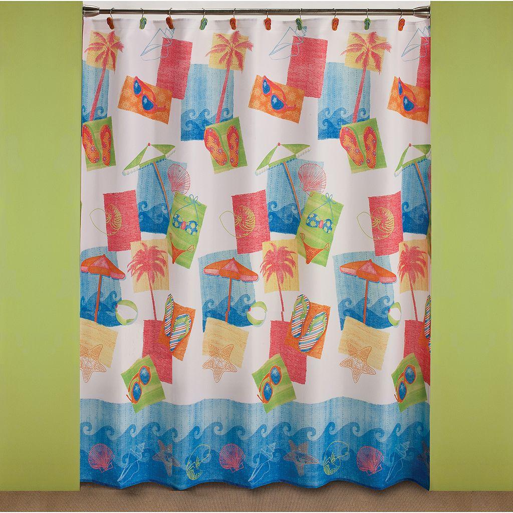 Saturday Knight, Ltd. Miami Beach Shower Curtain