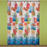 Saturday Knight, Ltd. Miami Beach Shower Curtain