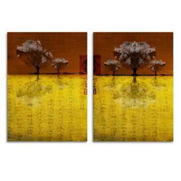Trademark Fine Art ''Tree III And IV'' 2-pc. Wall Art Set