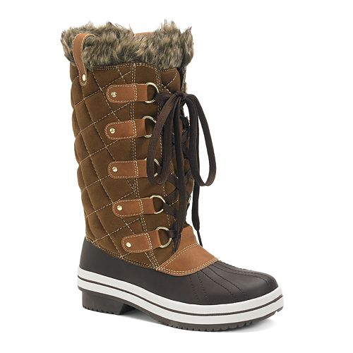 Madden Girl Cooco Quilted Women's Puffer Boots