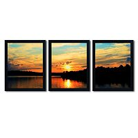Trademark Fine Art ''Touch The Wind'' 3-pc. Wall Art Set