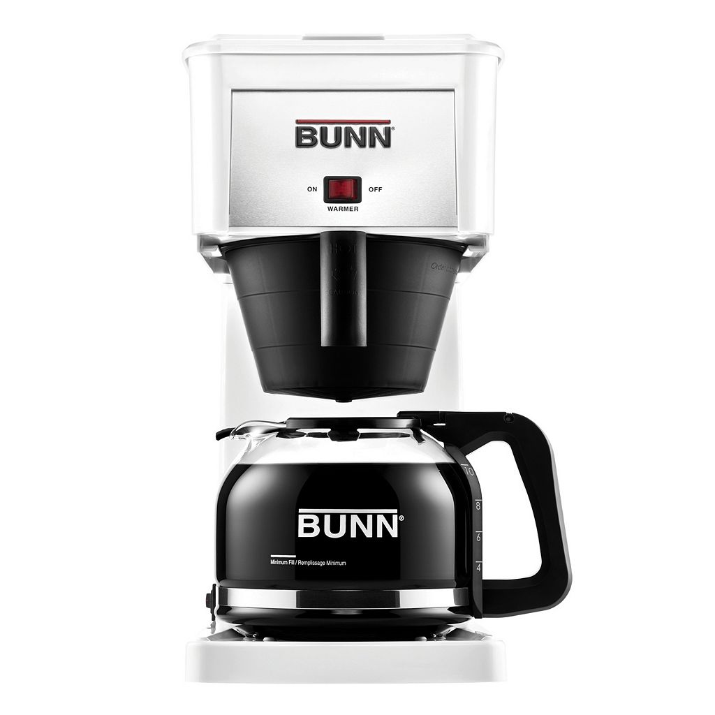 BUNN® Velocity Brew® White 10-Cup Coffee Brewer