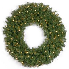 36-in. Pre-Lit Artificial Norwood Fir Wreath