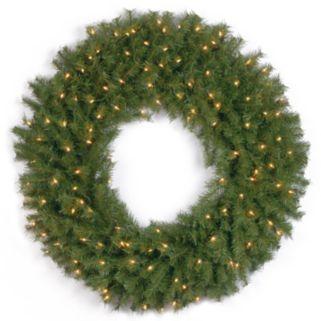 36-in. Pre-Lit Artificial Norwood Fir Wreath