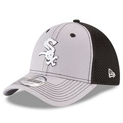 1903f04b Adult New Era Chicago White Sox 39THIRTY Team Front Neo Flex-Fit Cap