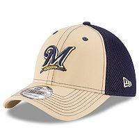 Adult New Era Milwaukee Brewers 39THIRTY Team Front Neo Flex-Fit Cap