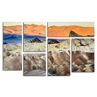 Trademark Fine Art ''Zabriskie Point Sunrise'' 8 pc Wall Art Set