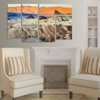 Trademark Fine Art ''Zabriskie Point Sunrise'' 8-pc. Wall Art Set