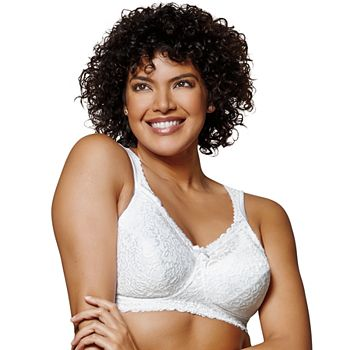 62575fb71a72b Playtex Bra  18 Hour Comfort Lace Full-Figure Bra 4088 - Women s