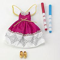 Madame Alexander Pixie Doodles Fairy Dress Set